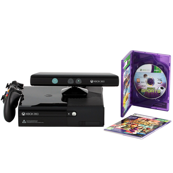 XBOX 360 MICROSOFT 500GB KINECT KIN ADV SPORTS ULTIMATE