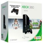 Microsoft Xbox 360 500 ГБ + Plants vs Zombies Fable Anniversary