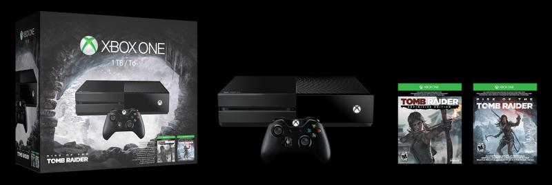 MICROSOFT XBOX ONE 1TB RISE OF THE TOMB RAIDER